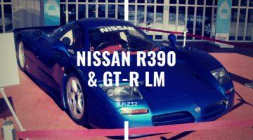 NISSAN R390 & GT-R LM ル・マンGT1